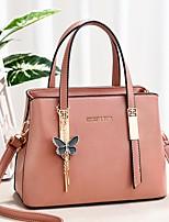 cheap -Women's Bags Top Handle Bag Shopping Daily 2021 Handbags Earth Yellow Black Blue Red