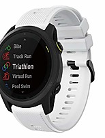 cheap -smartwatch band for forerunner 745 bracelet, 22mm fast release soft silicone sports bracelet replacement bracelet compatible with garmin forerunner 745 smart fitness watch