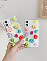 preiswerte -Telefon Hülle Handyhüllen Für Apple Rückseite iPhone 12 Pro Max 11 SE 2020 X XR XS Max 8 7 Stoßresistent Staubdicht Durchsichtig TPU