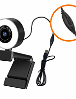 cheap -1080p Webcam Mini Camera with Noise Canceling Microphone Fixed-focus Web Cam 30fps USB Plug Web Camera for PC Computer Laptop