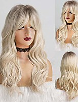 cheap -ebingoo 20 inches blonde wig for women long curly soft synthetic heat resistant fiber wigs for daily wear for cosplay for daily wear for any occasions