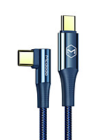 cheap -MCDODO USB C Cable Braided Quick Charge 5 A 1.8m(6Ft) 1.2m(4Ft) Nylon TPE For Samsung Xiaomi Huawei Phone Accessory