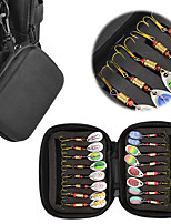 cheap -16 pcs Lure kit Fishing Lures Spinnerbaits Bass Trout Pike Freshwater and Saltwater