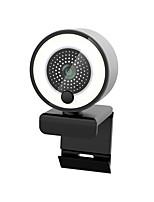 cheap -Autofocus Webcam 2K HD Web Camera for PC Laptop Computer with Microphone Ring Light Tripod Web Cam