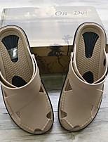 cheap -Men's Sandals Casual Nappa Leather 1915 Silicon Khaki / Black 1915 Silicon Dark Blue / Orange 1915 silicon gray / green Spring & Summer