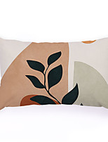 cheap -Hand-Painted Pattern Double Side Cushion Cover 1PC Soft Decorative Square  Pillowcase for Sofa bedroom Car Chair Superior Quality Outdoor Cushion for Patio Garden Farmhouse Bench Couch