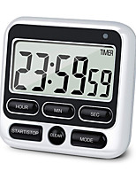 cheap -Digital Stopwatch Large Display Digital Timer Square Cooking Count Up Countdown Alarm Clock Sleep Stopwatch Clock