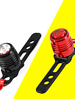 cheap -LED Bike Light Front Bike Light LED Bicycle Cycling Waterproof Super Bright Durable Rechargeable Li-Ion Battery 10 lm USB Camping / Hiking / Caving Everyday Use Cycling / Bike / IPX 6 / ABS