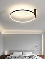 cheap -LED Ceiling Light Ring Circle Design Modern Black 60cm 90cm Flush Mount Lights Acrylic LED Nordic Style 110-240 V