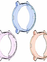 cheap -Smartwatch case protective frame, compatible with galaxy watch active2, 44 mm, soft tpu, scratch-resistant bumper frame for galaxy active 2 44 mm smart watch