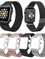 cheap -Smart Watch Band for Apple iWatch 1 pcs Milanese Loop Stainless Steel Replacement  Wrist Strap for Apple Watch Series SE / 6/5/4/3/2/1 38mm 40mm 42mm 44mm