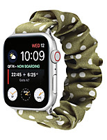 cheap -Smart Watch Band for Apple iWatch 1 pcs Printed Bracelet Elastic band Flannel Replacement  Wrist Strap for Apple Watch Series SE / 6/5/4/3/2/1