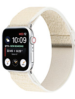 cheap -Smart Watch Band for Apple iWatch 1 pcs Classic Buckle Canvas Replacement  Wrist Strap for Apple Watch Series SE / 6/5/4/3/2/1