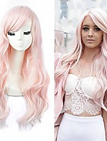 cheap -long curly green wig high density cosplay wig heat resistant synthetic full hair wigs for women