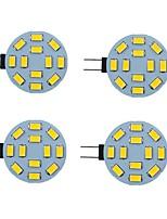 cheap -LED Bi-pin 2pcs 2 W Lights 200 lm G4 6 LED Beads SMD 5730 Warm White Natural White White 9-30 V