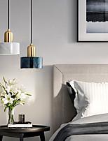 cheap -LED Pendant Light 15 cm Single Design Pendant Light Resin Electroplated Modern Nordic Style 110-240 V