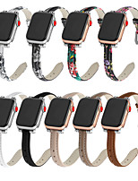 cheap -Smart Watch Band for Apple iWatch Classic Buckle Genuine Leather Replacement  Wrist Strap for Apple Watch Series SE / 6/5/4/3/2/1
