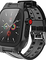 cheap -waterproof case for apple watch series 6 / se / 5/4 44 mm, ip68 waterproof, shockproof, impact-resistant, apple watch full body protective case with integrated screen protector