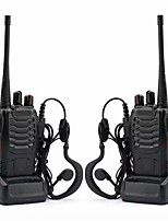 cheap -2pcs/set baofeng bf-888s walkie talkie portable radio station bf888s 5w bf 888s comunicador transmitter transceiver radio set