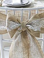 cheap -Chair Sash Linen Wedding Decorations Wedding Wedding All Seasons