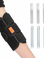 cheap -tennis elbow brace hailicare ulnar nerve entrapment brace elbow splint adjustable stabilizer with 6 removable metal splints for cubital tunnel syndrome tendonitis ulnar nerve men women (fits most)