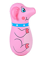 cheap -Cute Pig Inflatable Punching Bags, Blow up Tumbler for Kids, Boxing Toys for Indoor & Outdoor