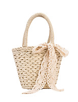 cheap -Women's Bags Top Handle Bag Date Beach 2021 Khaki Beige