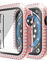 cheap -Cases For Apple iWatch 38mm / 40mm / 42mm Plastic Screen Protector Smart Watch Case Compatibility