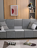 cheap -Houndstooth Sofa Cover 1-Piece Couch Cover Fit for 1-4 Seater L-shape Couch Soft Stretch Slipcover Spandex Jacquard Fabric Easy to Install(1 Free Cushion Cover)