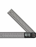 cheap -DUKA AR-1 Multifunctional Digital Protractor Angle Ruler 360 Degree Goniometer Inclinometer Angle Finder Meter Stainless Steel