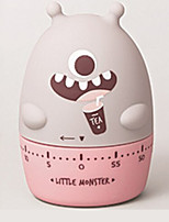 cheap -Cute Monster Shape Stopwatch Timer Within 60 Minutes Machanical Alarm Reminder Clock For Work Game Sport Baking Kitchen Tools Home Decor