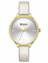 cheap -CURREN Women's Quartz Watches Analog Quartz Stylish Minimalist Water Resistant / Waterproof Creative / Japanese