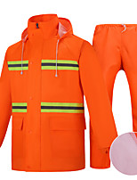 cheap -Women's Men's Rain Poncho Hiking Raincoat Rain Jacket Autumn / Fall Winter Spring Summer Outdoor Waterproof Quick Dry Lightweight Breathable Pants / Trousers Bottoms Clothing Suit Hunting Fishing