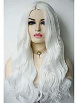 cheap -white wig halloween wigs synthetic wigs movie character cosplay halloween costume wig for women for halloween party