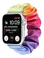 cheap -Smart Watch Band for Apple iWatch 1 pcs Printed Bracelet Multicolor Flannel Replacement  Wrist Strap for Apple Watch Series SE / 6/5/4/3/2/1