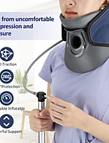 cheap -Infrared Neck Cervical Traction Device Powerful Support Adjustable Inflatable Neck Stretcher 360 Neck Protection Brace Air Pump Neck Stretcher Cervical Neck Traction Device