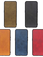 cheap -Phone Case For LG Back Cover Wing 5G LG G8 LG G8 ThinQ LG K50 Shockproof Dustproof Solid Colored PU Leather