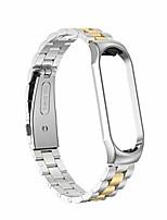 cheap -Smart watch band for mi band 4 replacement metal bracelet bracelet stainless steel bracelet