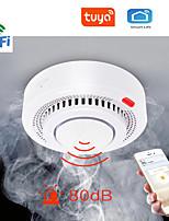 cheap -Tuya WiFi Smoke Alarm Fire Protection Smoke Detector Smokehouse Combination Fire Alarm Home Security System Fire Brigade