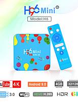 cheap -Smart TV Box Android 9.0 TV Box H96mini 4K Support H.265 Cortex-A53 4GB 128GB 32GB