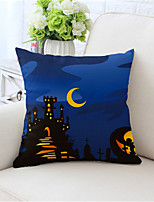 cheap -Double Side Cushion Cover 1PC Linen Soft Decorative Square Throw Pillow Cover Cushion Case Pillowcase for Sofa Bedroom Superior Quality Machine Washable