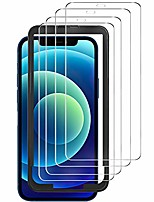 cheap -luibor 4 pieces, tempered glass compatible with iphone 12/12 pro (6.1 inch), anti-scratch anti-dust anti-oil anti-bubbles tempered glass protective film for new 12/12 pro
