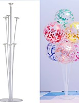 cheap -6set Birthday Balloon Stand Stick DIY Party Decoration Latex Balloons Table Floating Letter Balloons Supporting Rod(No balloons)