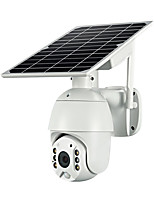 cheap -4G / WI-FI Version 1080P HD Solar Panel Outdoor Surveillance Camera Smart Home Alarm
