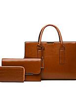 cheap -Women's Bags Bag Set Date Office & Career 2021 Maroon Black Red Brown