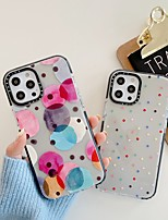 cheap -Phone Case For Apple Back Cover iPhone 12 Pro Max 11 SE 2020 X XR XS Max Shockproof Dustproof Geometric Pattern TPU