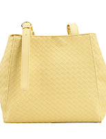 cheap -Women's Bags Top Handle Bag Date Office & Career 2021 White Black Blue Yellow