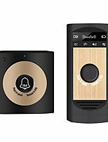cheap -Wireless Voice Intercom Doorbell Monitor with 1*Outdoor Unit Button 1* Indoor Unit Receiver Smart Home Security System