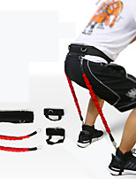 cheap -Exercise Resistance Bands 5 pcs Carry Bag Sports EVA Fitness Workout Lightweight Protective Resistance Training For Women's Men's Waist Waist & Back Leg
