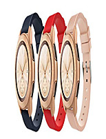 cheap -Smart watch band galaxy watch 42mm/ active 2/ active/ gear sport /vivoactive 3 armband [3-pack] silicone replacement watchband sport armband with clasp - midnight blue & red & vintage rose pink